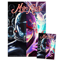 Mylo Xyloto Comic Series (Six issues) &amp; Lithograph*