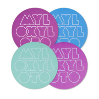 Coldplay Set of 4 Coasters