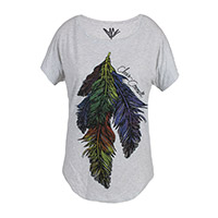 Women's Feather Dolman