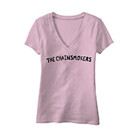 THE CHAINSMOKERS LOGO LADIES TEE