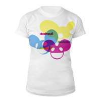 deadmau5 Color Logos Junior Tee