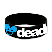 Black deadmau5 Wristband