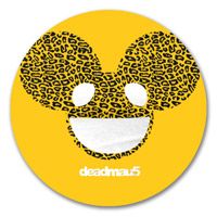 deadmau5 Cheetah Print Logo Sticker