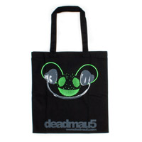 deadmau5 Green Logo Tote Bag