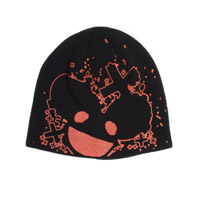 deadmau5 Red And Black Beanie