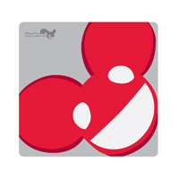 deadmau5 Red Logo Mousepad