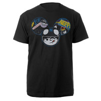 deadmau5 neffmau5 Radder Tee Black