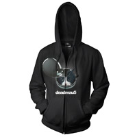 deadmau5 &gt;Album Title Goes Here&lt; Zip Hoodie
