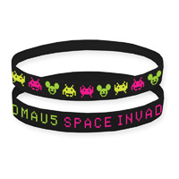 deadmau5 Space Invaders Icons Wristband