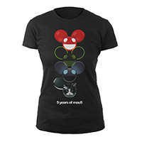 deadmau5 Multi Icon Heads Junior Tee