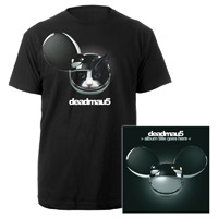 deadmau5 &gt;Album Title Goes Here&lt; Tee and CD Bundle