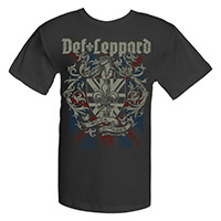 Def Leppard Rock Of Ages Tee
