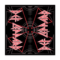 Def Leppard Target Bandana