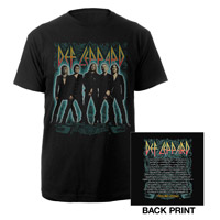 Def Leppard 2012 Tour Tee