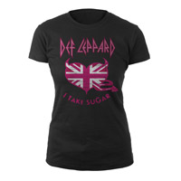 "New - ""I Take Sugar"" Def Leppard Jr. Tee"