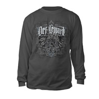 Def Leppard Eagle Crest Long Sleeve Tee