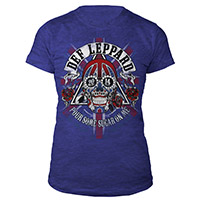 Def Leppard Ladies Tour Tee