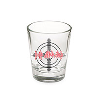 Def Leppard Shot Glass