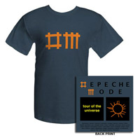 Depeche Mode Denim 09/10 Dates T-shirt