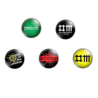 Depeche Mode Badge Set