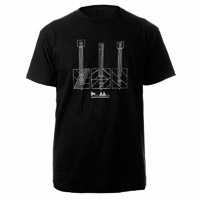 Guitars Black T-shirt