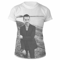 Dave Gahan Allover White Babydoll
