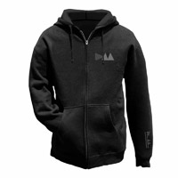 Delta Logo Men's Black Hoody