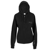 Delta Logo Women's Black Hoody