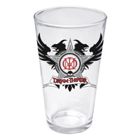 Dream Theater Black Star Pint Glass
