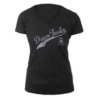 Ladies Vintage Style V-Neck Tee