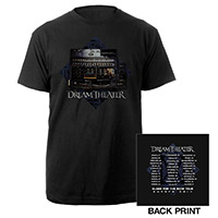 Dream Theater Enigma Machine Euro 2014 Tour Tee