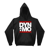 Dynamo Logo Black Hoody