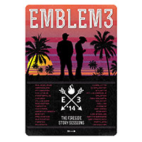 Emblem3 The Fireside Story Sessions Tour Poster