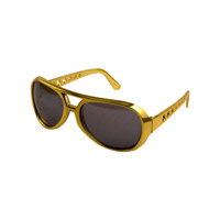 Elvis 1970's Youth Gold Sunglasses