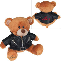 Elvis 68 Special Black Jacket Bear