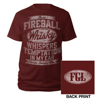 Fireball Whisky Tee