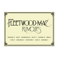 Fleetwood Mac Rumours Poster
