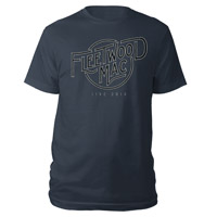 Fleetwood Mac Live 2013 Logo Tee