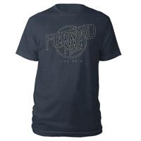 Fleetwood Mac Live 2013 Logo Tee
