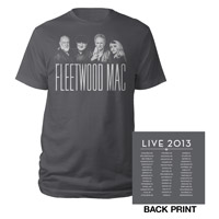 Official Fleetwood Mac Live 2013 Tour Tee