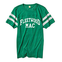 Fleetwood Mac Football Jersey Tee