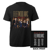 Official Fleetwood Mac On With The Show Tour Tee