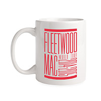 Official Fleetwood Mac World Tour Mug