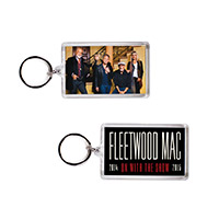 Official Fleetwood Mac On With The Show Tour Keychain