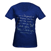 Fleetwood Mac Songbird Lyric Tee*