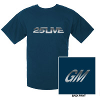 25Live Foil Tee