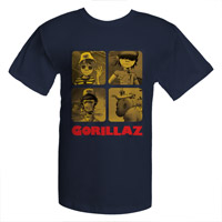 Exclusive Gorillaz Tee