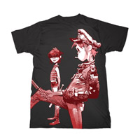Gorillaz Band Artwork T-Shirt