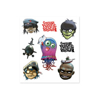 Gorillaz Plastic Beach Sticker Sheet