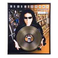 The Lord of Rock Framed 24KT Gold-Plated LP